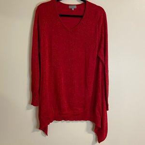JOSEPH A - Red metallic sweater